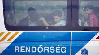 Asylsuchende werden vorerst nicht nach Ungarn abgeschoben