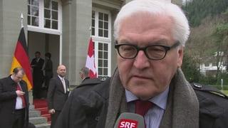 Steinmeier: Burkhalters Aufgabe ist verantwortungsvoll