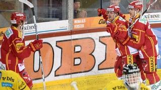 Tigers gewinnen Berner Derby - Lugano am Tabellenende