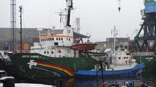«Arctic Sunrise»: Russen müssen Schiff und Crew freigeben