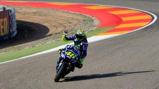 Unglaublich: Rossi rast in die Frontreihe