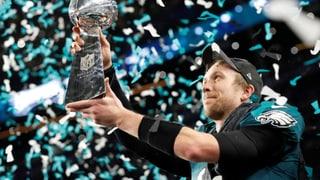Spektakel pur: Philadelphia erstmals Super-Bowl-Sieger