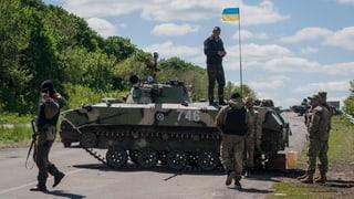 Erneut schwere Explosionen in der Ostukraine