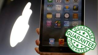 Garantie auf Apple-Produkte: Händler schwenken um