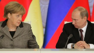 Wenn die Kanzlerin die Geduld mit Putin verliert