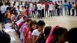 Startschuss zu den Mammut-Wahlen in Indien