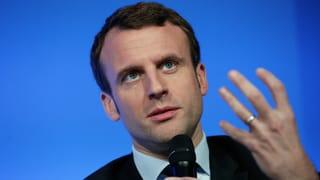 Emmanuel Macron: Rücktritt ins Rampenlicht