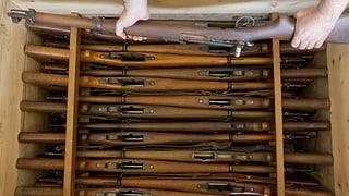 277 Waffen weniger im Umlauf