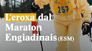 Laschar ir video «L'eroxa dal Maraton engiadinais (ESM)»