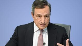 EZB-Chef Draghi macht es spannend