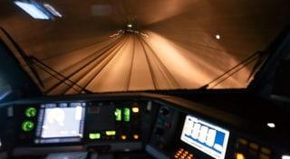 Der Mega-Tunnel macht einen Mini-Schritt