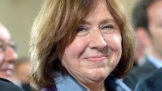 Der Literaturnobelpreis geht an Swetlana Alexijewitsch