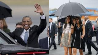 Obama auf Kuba: Seine Töchter stehlen ihm fast die Show