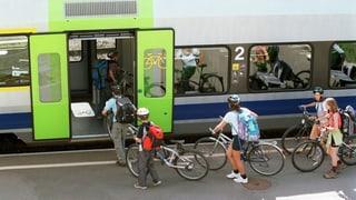 Mit dem Velo in den Zug: Weniger Stress dank guter Planung