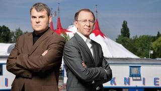 Video «Giacobbo / Müller im Circus Knie» abspielen