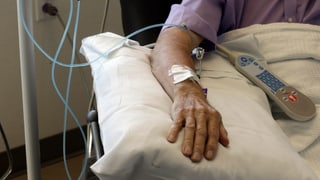 Krebszahlen steigen rasant an