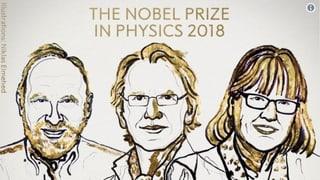 Premi Nobel da fisica va a trais perscrutaders
