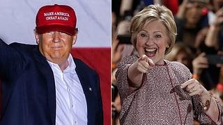 Trump und Clinton werden Favoritenrolle gerecht
