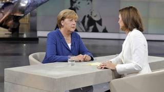 Merkel fordert einheitliche Asylstandards