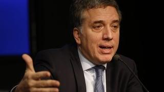 Argentinischer Finanzminister tritt nach turbulenter Woche zurück