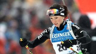 9. Platz für Biathletin Selina Gasparin im Sprint