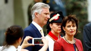 Leuthard trifft belgischen König Philippe