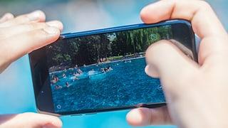 Fotoverbot ist in der Badi kaum umsetzbar