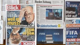 Sepp Blatter wird Kolumnist der «Schweiz am Sonntag»