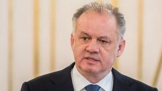 Slowakischer Präsident fordert Neuwahlen oder Regierungsumbildung