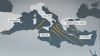 Mittelmeer-Route bleibt gefährlich