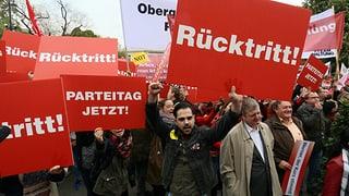 SPÖ-Regierungschef von Genossen ausgepfiffen