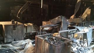 Fünf bis zehn Millionen Franken Schaden nach Brand in Grenchen