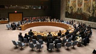 UNO kann sich nicht auf Resolution einigen