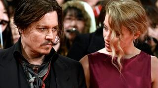 Wegen häuslicher Gewalt: Amber Heard zeigt Johnny Depp an