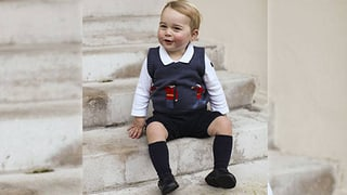 Kurze Hosen im Winter: Ganz schön cool, dieser kleine George