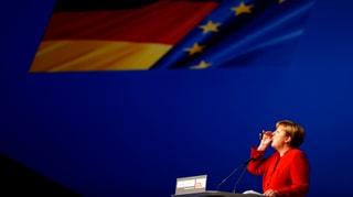 Alles dreht sich um Merkel