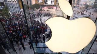 Rekordergebnis von Apple – und die Aktie fällt