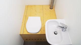 Kompost-WC: «Uh, was ist denn das?» (Artikel enthält Bildergalerie)