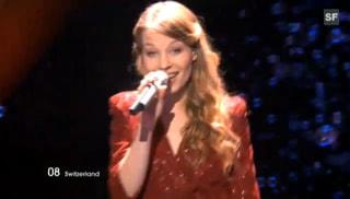 Anna Rossinelli hat es ins Eurovision-Final geschafft