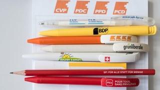 Wahlkampf der Parteien nimmt Fahrt auf (Artikel enthält Audio)