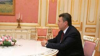 Janukowitsch: «Ich bin ein gläserner Mensch»