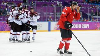 Hockey-Nati scheitert an Lettland