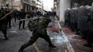 Heftige Ausschreitungen in Athen