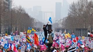 Rechtsradikales Engagement gegen die Homo-Ehe in Frankreich