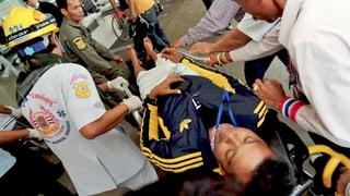 Bangkok: Wieder Explosionen mitten in der Menschenmenge