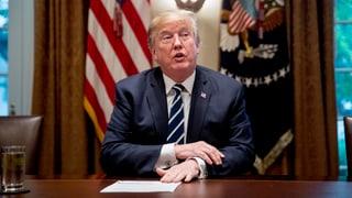 Trump bemüht sich um Schadensbegrenzung