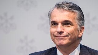 Ermotti verdient 13,7 Millionen Franken