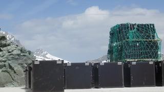 50 Lampen à 40 Kilo für das Matterhorn