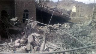 Spital in Jemen zerbombt