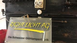Über 100 Jahre wurden in Goldau und Immensee Glühbirnen produziert. Nun macht die Fabrik dicht. Ein letzter Besuch.